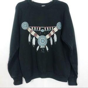 Vintage | Sweatshirt | M | Black